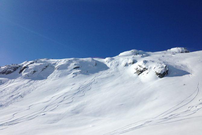 Hors piste domaine Skiable Les Sybelles