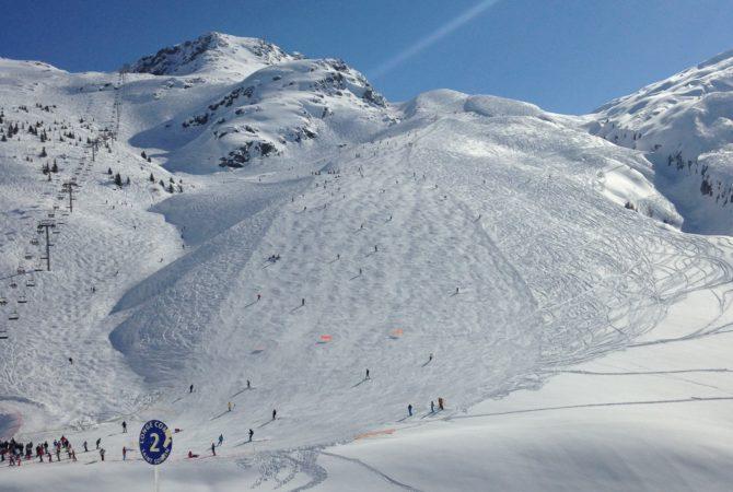 Retour à ski de Saint-Sorlin d'Arves